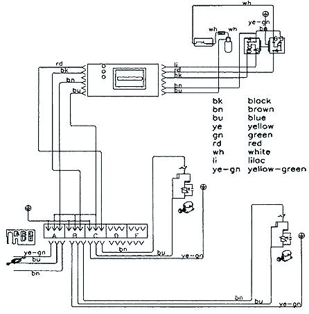 схема холодильника Vestfrost
